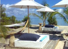 Azura Benguerra Lodge Outdoor Lounges