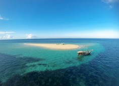 Ibo Island Lodge Aerial Sandbank