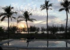 Chuiba Bay Pool At Sunset