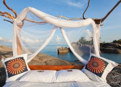 Nkwichi Lodge Star Bed
