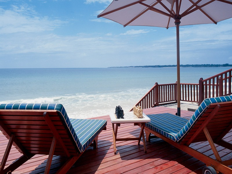 Pemba Beach Hotel Pool Deck