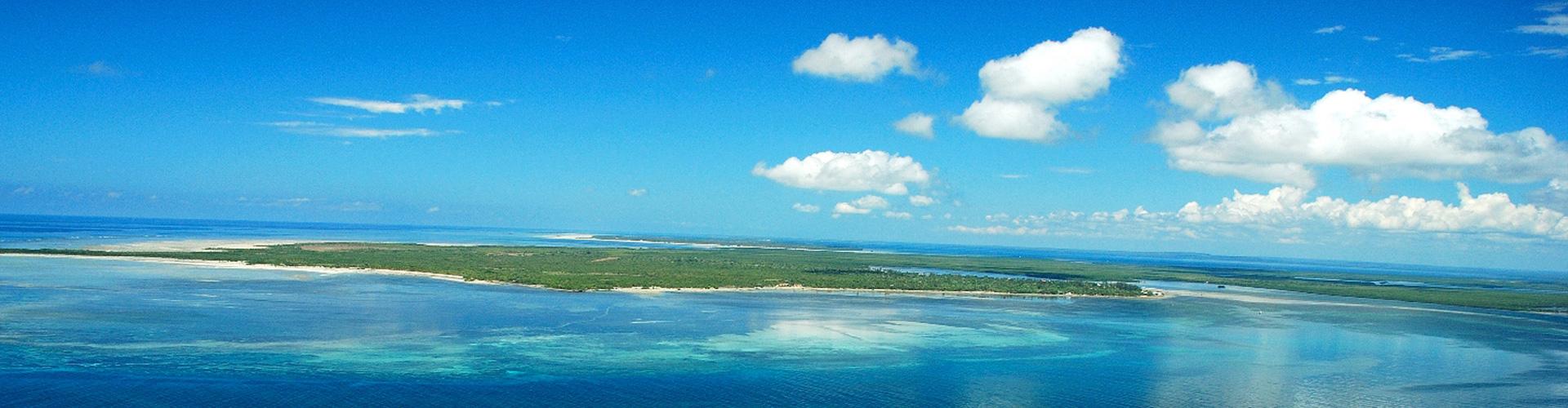 Ibo Island Aerial