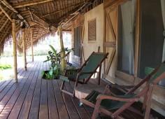 Ulala Lodge Deck view