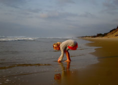 Travessia Beach Lodge Shells on beach