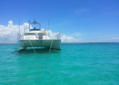 Maxim 400 Fly Bridge Power Catamaran