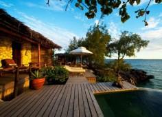 Villa Quilalea Deck View