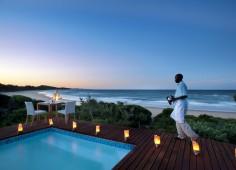 White Pearl Resort Sunset Pool View