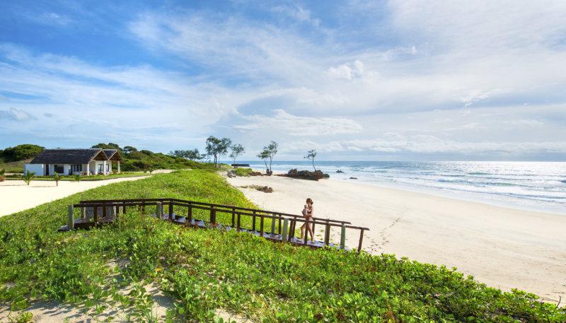 Beach view at Diamonds Mequfi Beach Resort