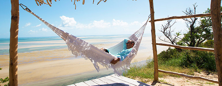 Azulik lodge hammock