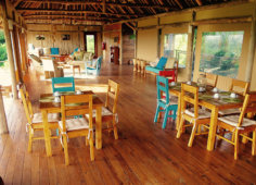 Travessia Beach Lodge Mozambique Restaurant